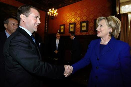 Clinton-Medvedev