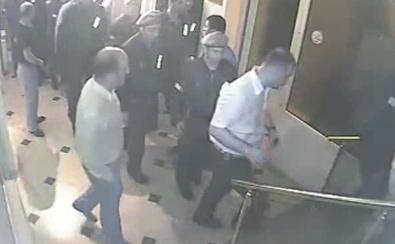 სამართალდამცავების შესვლა ქართული პარტიის ოფისში