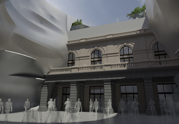 პრემიერის ადმინისტრაციის ახალი შენობის პროექტი