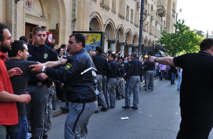 1 მაისის მანიფესტაცია – გამოიყენა თუ არა პოლიციამ პროპორციული ძალა