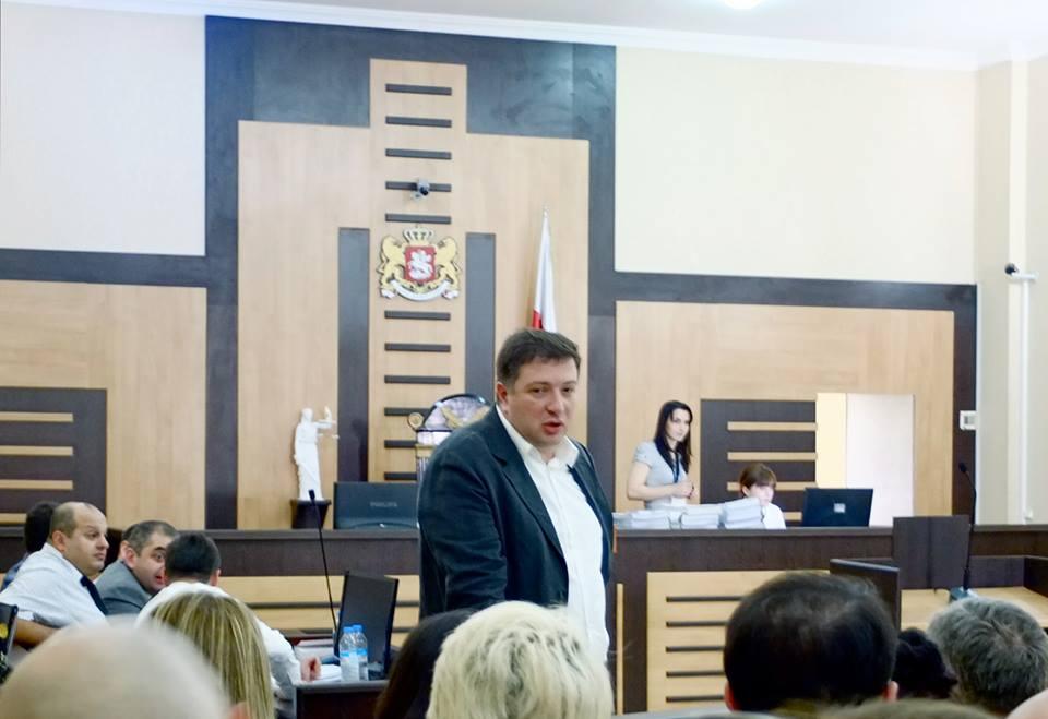 გიგი უგულავა სასამართლოში/ფოტო: კატო კოპალეიშვილი