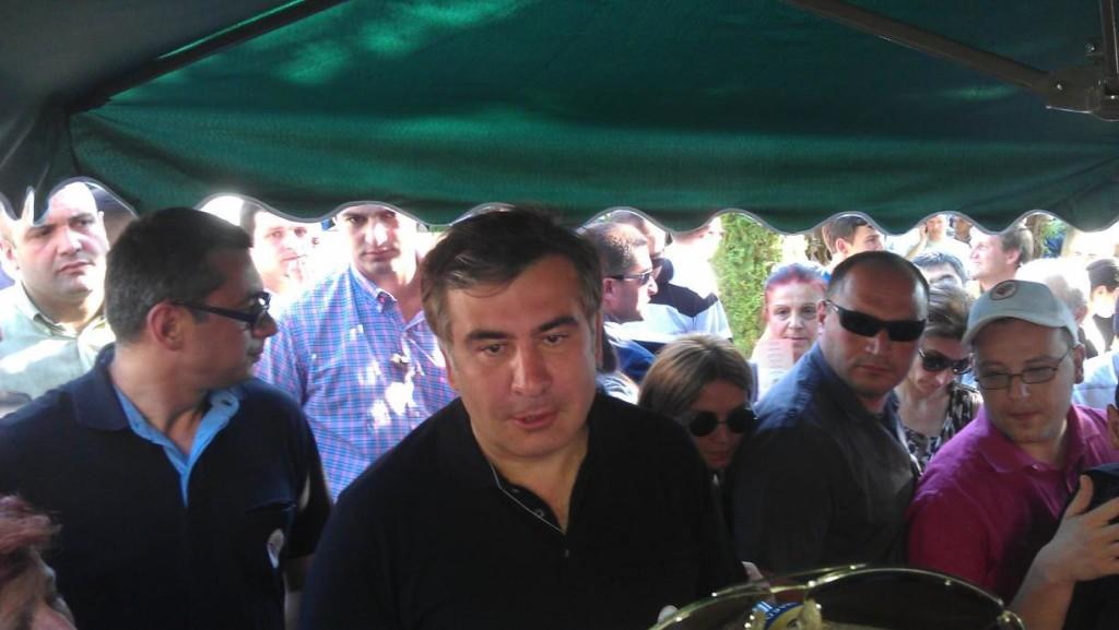 მიხეილ სააკაშვილი იმერეთის ღვინის ფესტივალზე/ფოტო: გივი ავალიანი