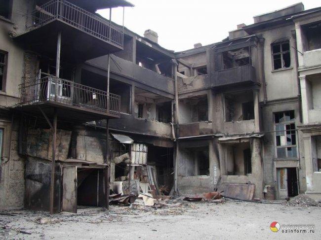 2008 წლის აგვისტოს ომი   ფოტო: osinform.ru