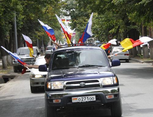 სამხრეთ ოსეთის დამოუკიდებლობის აღიარების დღის აღნიშვნა, 2012 წელი;        © Кавказский Узел