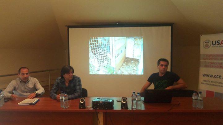 შეხვედრა ქუთაისში ცხოველთა უფლებების საკითხზე