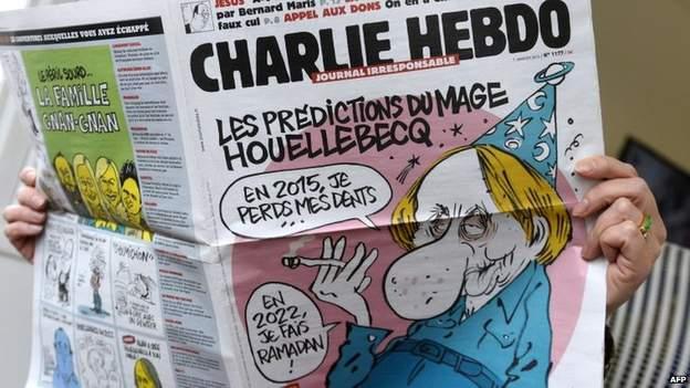 CharlieHebdo-ს ბოლო ნომერი თავდასხმამდე