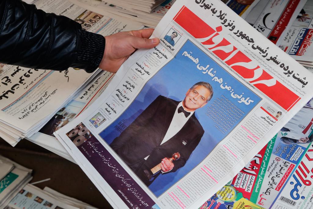 ირანში გაზეთი ჯორკ კლუნის მიერ ნათქვამი ციტატის