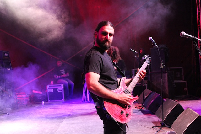 ჯგუფ Highland-ის წევრი, Tbilisi JAM Fest-ის ბოლო დღე, 26.04.2015
