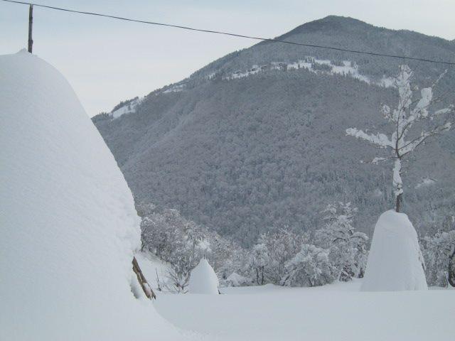 თოვლი შუახევში