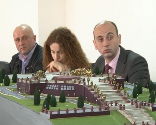 სამხრეთ ოსეთის პრეზიდენტთან არსებული კომისიის სხდომა, ფოტო: osinform.ru