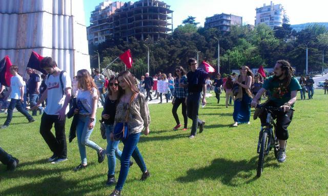 სტუდენტების აქცია–მსვლელობა 1 მაისს, 2013 წელი, თბილისი