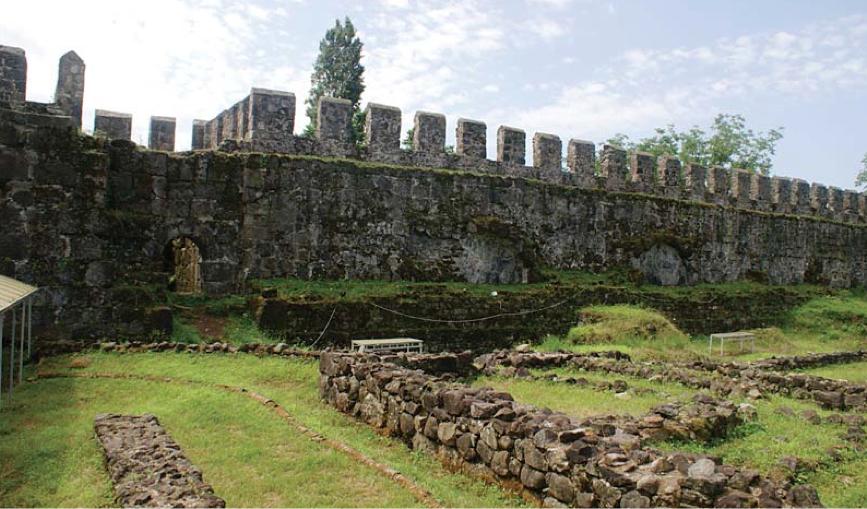გონიო-აფსაროსის ციხე-სიმაგრე - რომაული და ადრებიზანტიური ხანის მონუმენტური ნაგებობა