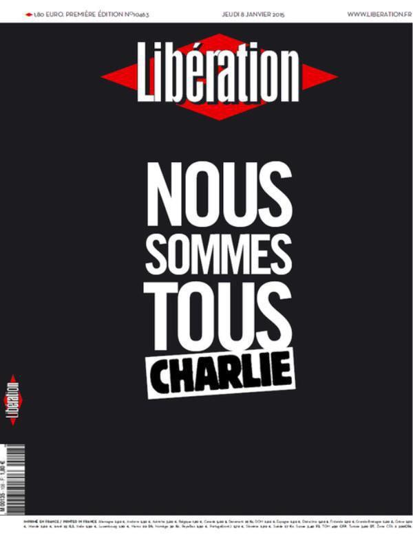 """ფრანგული ჟურნალი Liberation – """"ჩვენ ყველა შარლი ებდო ვართ"""""""