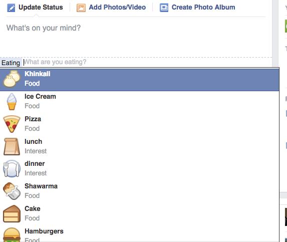 ხინკალი ფეისბუკზე