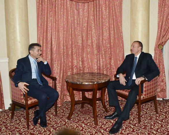 ალიევი და ივანიშვილი თბილისში შეხვდნენ; ფოტო: http://president.az/