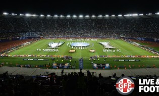 UEFA Super Cup 2015, Tbilisi, Georgia © GFF