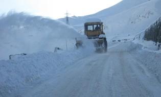 თოვლი გზაზე