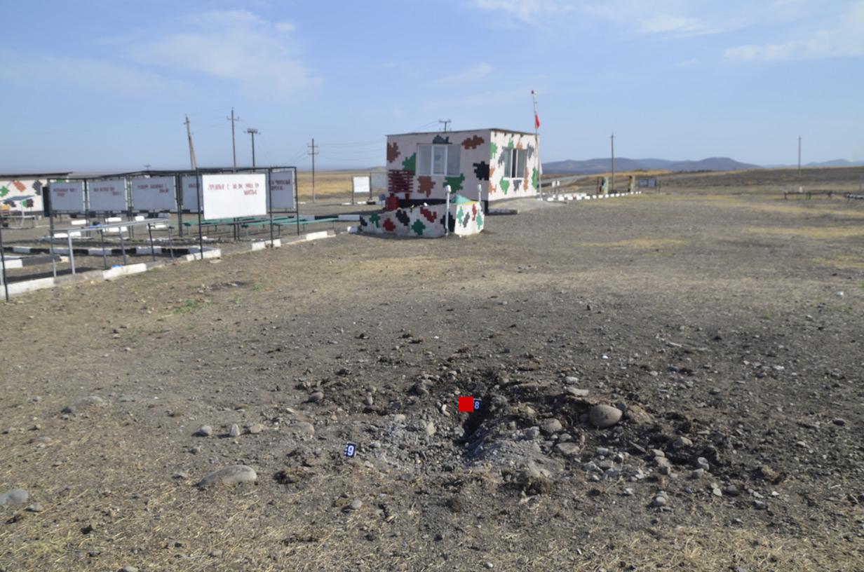 ყარაბაღის კონფქლიტის ზონა; ფოტო: სომხეთის თავდაცვის სამინისტრო