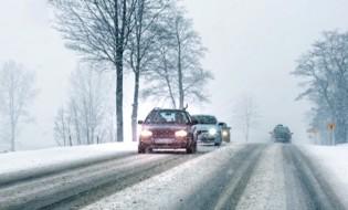 ინტენსიური თოვის გამო მოძრაობა შეიზღუდა