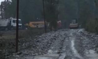 ციხისძირში ხეებს თხრიან, რათა ივანიშვილს გადასცენ; ფოტო: კადრი ტელეკომანია 25-ე არხის ვიდეომასალიდან