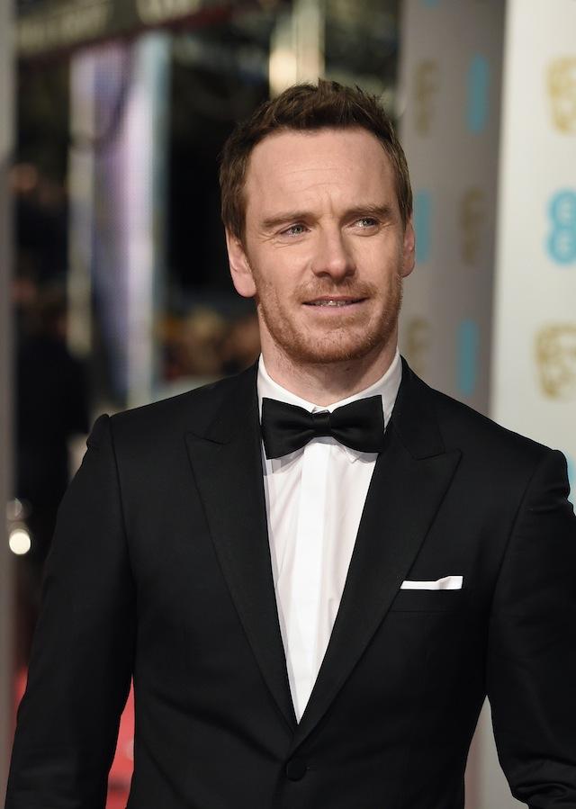 მაიკლ ფასბენდერი BAFTA-ს დაჯილდოებაზე. ფოტო: EPA/FACUNDO ARRIZABALAGA