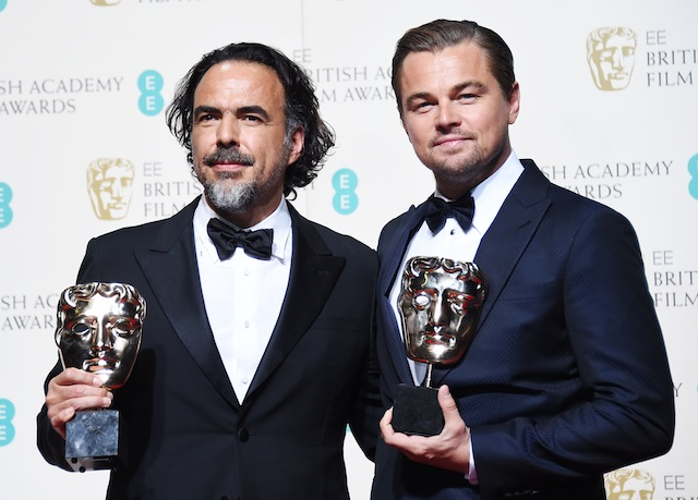 BAFTA-ს ჯილდო ალეხანდრო ინარიტუსა და ლეონარდო დიკაპრიოსაც გადაეცათ. ფოტო: EPA/ANDY RAIN