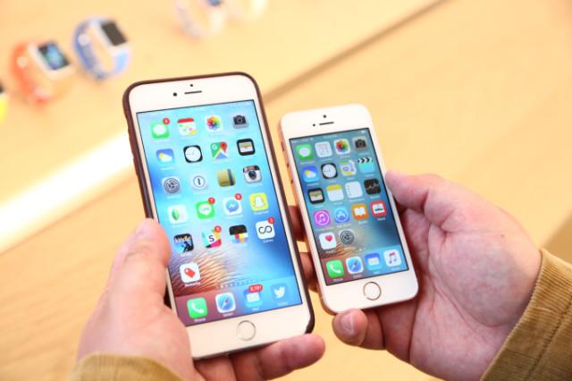 iPhone 6s და iPhone SE - სმარტფონის ახალი მოდელი ზომაში შემცირდა. ფოტო: TechChurche