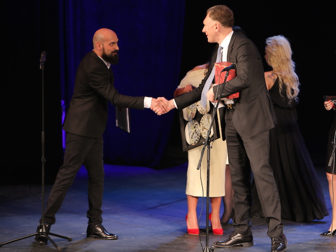 """სოსო ფხაკაძე """"ეგოს"""" ყოველწლიურ დაჯილდოებაზე  წლის საუკეთესო ბიზნესმენად აღიარეს, ფოტო: wissol ჯგუფი"""
