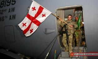 ქართველი სამხედროების დაბრუნება ავღანეთიდან. ფოტო: თავდაცვის სამინისტრო