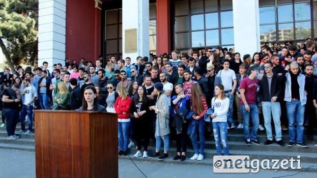 საქართველოს ტექნიკური უნივერსიტეტის სტუდენტები მიმართავენ ლექტორებს შეწყვიტონ შიმშილობა.