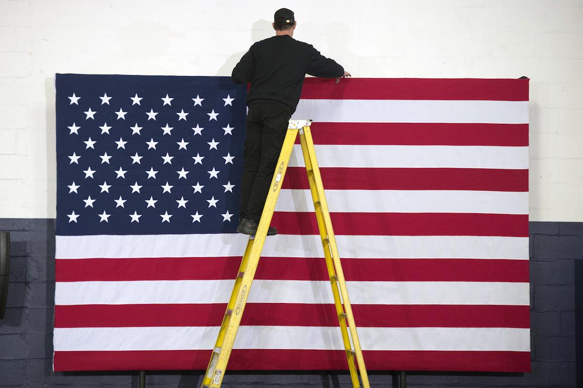 საპრეზიდენტო არჩევნები აშშ-ში © EPA/MICHAEL REYNOLDS
