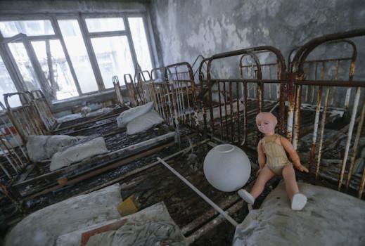 ყოფილი საბავშვო ბაღი © EPA/SERGEY DOLZHENKO