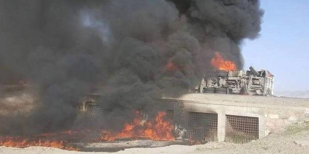 BBC: ავღანეთში საწვავის ავზთან შეჯახების შედეგად 73 ადამიანი დაიღუპა