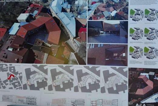 გუდიაშვილის მოედნის ორი შენობის პროექტი
