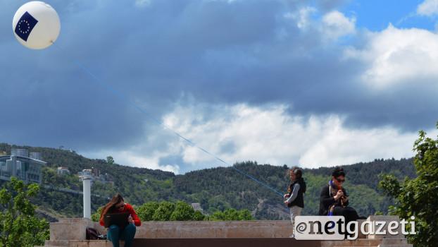 """""""ევროპის კვირეული"""" თბილისში, რიყის პარკში მოწყობილ """" ევროპარკში"""" გაიხსნა 08.05.2016 ფოტო: ნეტგაზეთი/მარიამ ბოგვერაძე"""