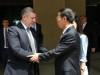 საქართველოს პრემიერ-მინისტრო გიორგი კვირიკაშვილი [მარცხნივ] და ჩინეთის ვიცე-პრემიერი ჭანგ გაოლი. 3 ივნისი, 2016, თბილისი, საქართველო. ფოტო:  საქართველოს მთავრობა