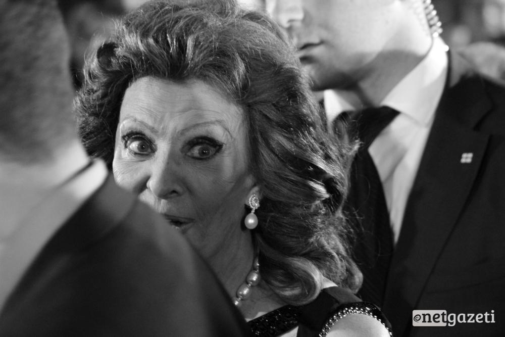 """იტალიელი მსახიობის, სოფი ლორენი საქველმოქმედო ფონდ """"ნატვრის ხეს"""" ღოსნიძიებაზე თბილისში. 15.06.16. ფოტო: ნეტგაზეთი/გუკი გიუნაშვილი"""