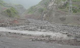 ღვარცოფი დევდორაკის ხეობაში. გარემოს ეროვნული სააგენტოს ფოტო. 23.06.2016