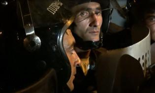 ერევანი, 20 ივლისი, დაპირისპირება პოლიციის შენობასთან; ფოტო: მარუტ ვანიანი/ნეტგაზეთი
