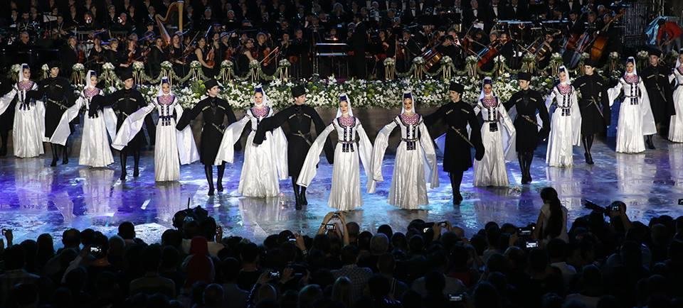 """ერისიონი Black Sea Arena-ზე პროექტ """"ქართული საგანძურით"""" წარდგება"""