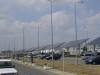 მზის ელექტროენერგიის პანელები  თბილისის საერთაშორისო აეროპორტში