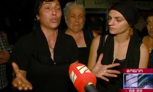 ზღვაში დაკარგული სამხედროს იაგო შარაძის დედა