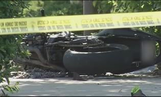 ავარიის შედეგად ბაიკერი დაიღუპა. ფოტო ილუსტრაციისთვის: wbaltv.com