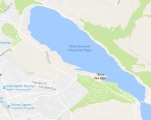 თბილისის ზღვა. წყარო: გუგლის რუკები