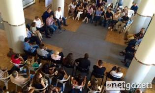 ნაციონალური მოძრაობის ლიდერების შეხვედრა ახალგაზრდებთან. 02.09.2016. ფოტო: გიორგი დიასამიძე/ნეტგაზეთი