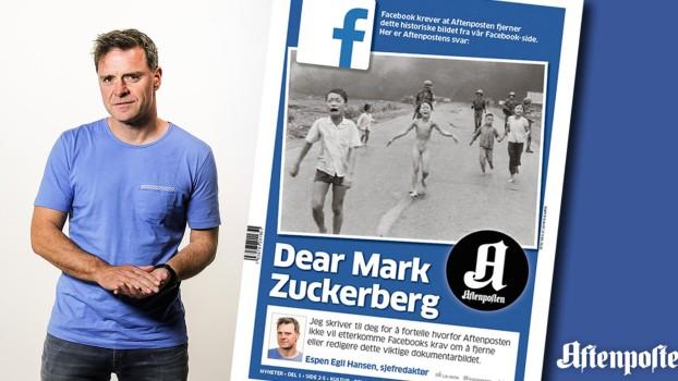 ესპენ ჰანსენი - ნორვეგიული გაზეთის Aftenposten-ის რედაქტორი ფოტო:   Aftenposten