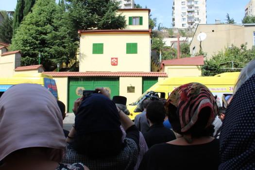 ლოცვითი დგომის აქცია ვატიკანის საელჩოსთან. 21.09.2016 ნეტგაზეთი/ მიშა მეფარიშვილი