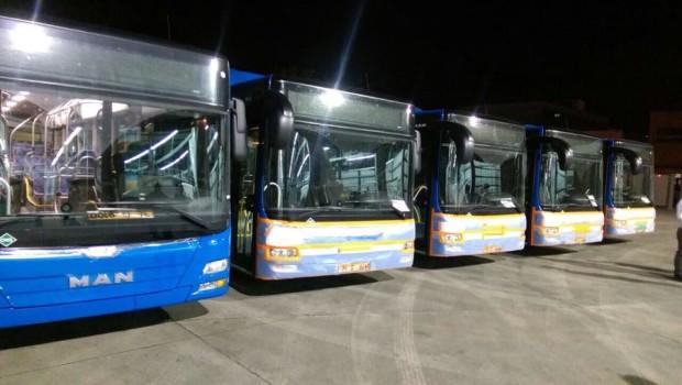 ახალი ავტობუსები თბილისში. 27.09.2016. ფოტო: ირაკლი ლექვინაძე