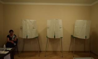 2016 წლის საპარლამენტო არჩევნები. ზუგდიდი. 08.10.2016. ფოტო: ნეტგაზეთი/ლუკა პერტაია