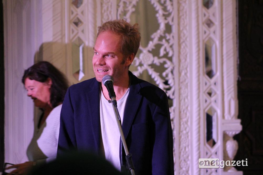 ჰოლანდიელი რეჟისორი ტომას ფასარტი. CineDOC-ის დაჯილდოება. 25.10.16 ფოტო: ნეტგაზეთი/გუკი გიუნაშვილი